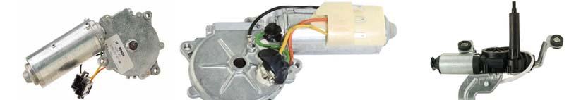Achterklepwissermotor
