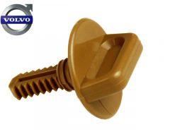 Bekleding clip beige reserve wiel 245 + hoedenplank 740 760 940 960 V90 -98