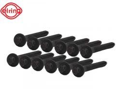 Kopboutenset Diesel 5-Cil. (12 stuks) C30 C70n S40n S60 S80 S80n V50 V70n V70nn XC60 XC70n XC70nn XC90
